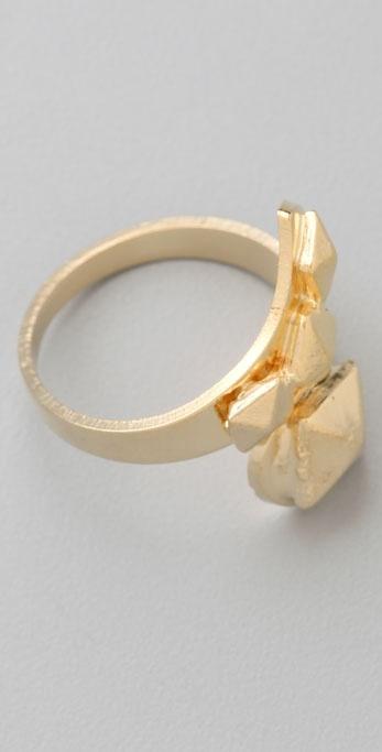 Bop Bijoux Pyramid Wrap Ring