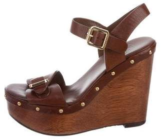832e0d343101a2 Tory Leather Wedge Sandal - ShopStyle
