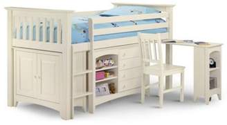 Abercrombie & Fitch Bunk Beds - Sleepers Premier Stone White Sleep Station Single Childrens Bed - 3Ft (90Cm) Single (30)