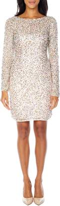 Lace & Beads Akiko Sequin Cocktail Dress