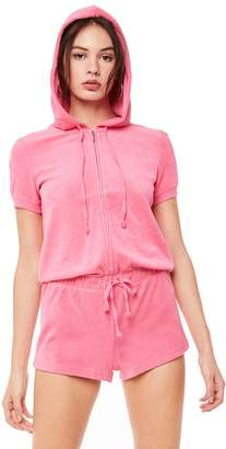 Juicy Couture Microterry Hooded Romper