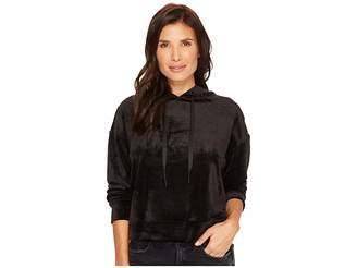 Sanctuary Melrose Brigade Velour Hoodie Sweatshirt Women's Sweatshirt