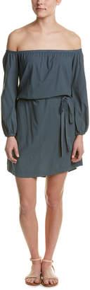 Mono B Off-The-Shoulder Shift Dress