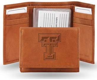 Rico Texas Tech Embossed Leather Trifold Wallet (Manmade Interior)