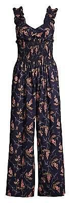 Rebecca Taylor Women's Ivie Floral Jumpsuit