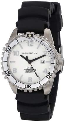Momentum Women's 'Mini' Quartz Stainless Steel and Rubber Sport Watch
