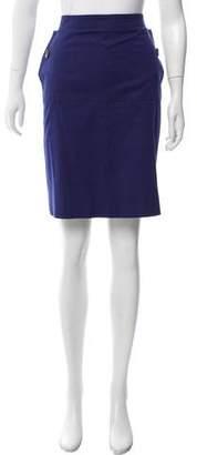 Derek Lam Woven Knee-Length Skirt