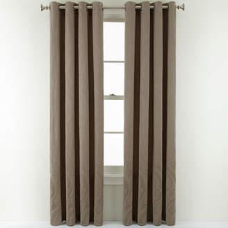 Royal Velvet Whittier Grommet-Top Curtain Panel
