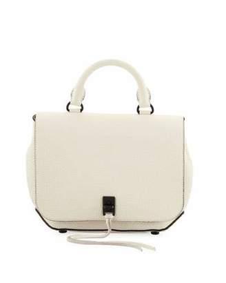 Rebecca Minkoff Darren Medium Convertible Leather Backpack, Antique White