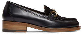 A.P.C. Black Diana Loafers
