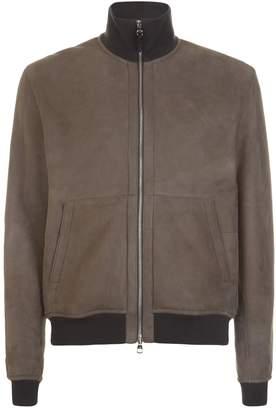 Dunhill Shearling Bomber Jacket