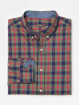 Carnegie Classic Fit shirt in Tartan