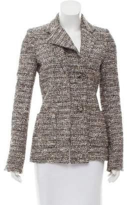 Balenciaga Bouclé Button-Up Jacket