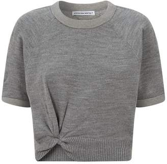 Alexander Wang Twist Detail Sweater