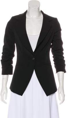 Elizabeth and James Peak-Label Fitted Blazer