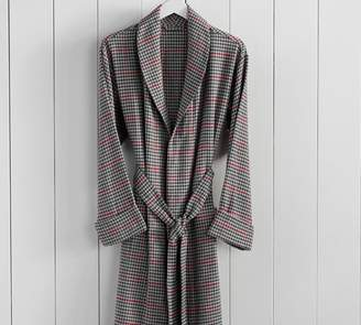 Pottery Barn Randall Plaid Men's Robe