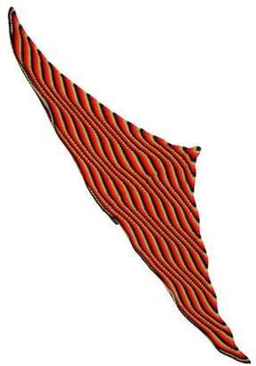 Prada Cashmere Multicolor Shawl
