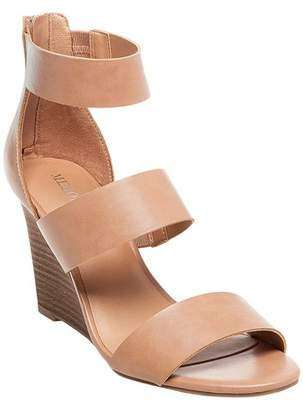 Merona Women's Karlyn Quarter Straps Wedge Sandals $29.99 thestylecure.com