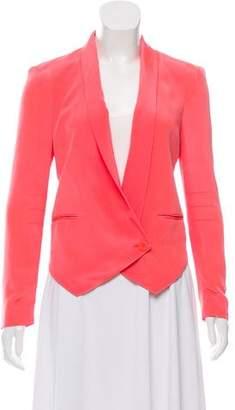 Rebecca Minkoff Silk Neon Blazer