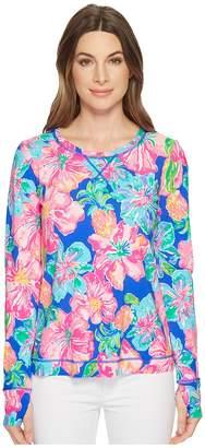Lilly Pulitzer UPF 50+ Renay Meryl Nylon Tee Women's Long Sleeve Pullover