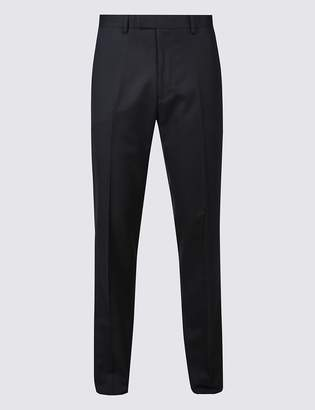 M&S CollectionMarks and Spencer Navy Slim Fit Trousers