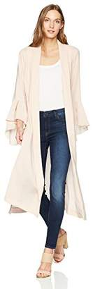 BCBGMAXAZRIA Women's Dina Robe Duster Jacket