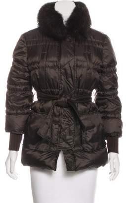 Blugirl Fur-Trimmed Puffer Jacket
