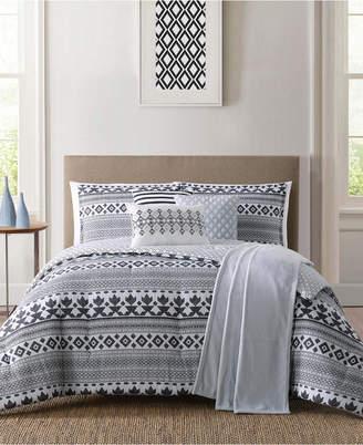 Pem America Jennifer Adams Cardiff King 7Pc Comforter Set Bedding