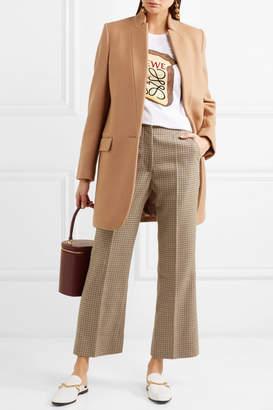 Stella McCartney Bryce Melton Wool-blend Coat - Camel