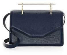 M2Malletier Indre Leather Shoulder Bag