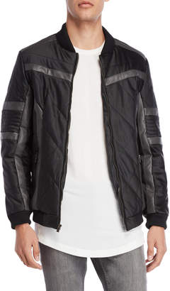 X-Ray X Ray Black Quilted Moto Jacket