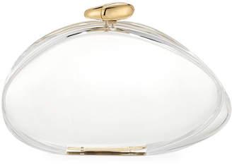 Benedetta Bruzziches Ariel Transparent Clutch Bag