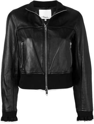 3.1 Phillip Lim cropped leather jacket