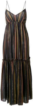 Zimmermann ストライプ ロングドレス