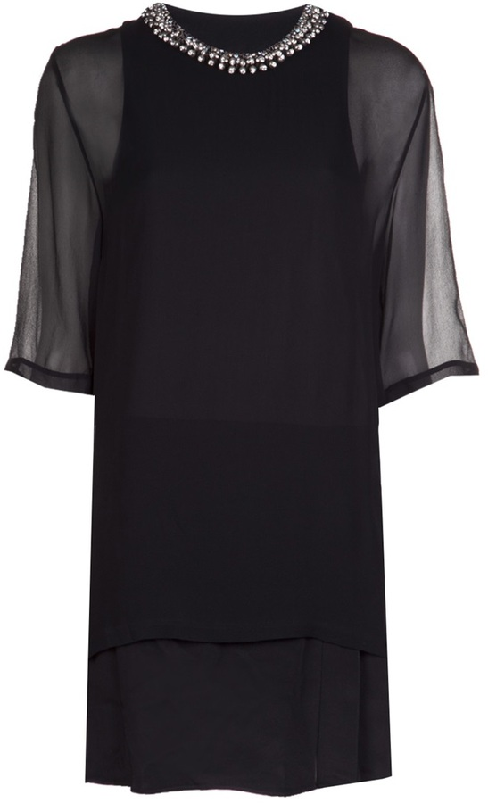 3.1 Phillip Lim 'Trompe-l'œil' t-shirt dress