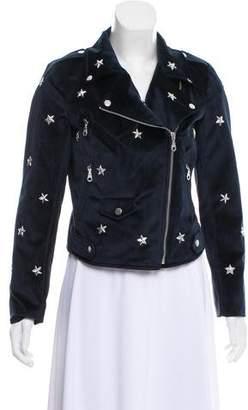 Rebecca Minkoff Embellished Velvet Jacket