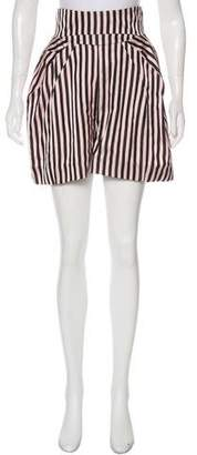 Marni Sateen Striped Shorts w/ Tags