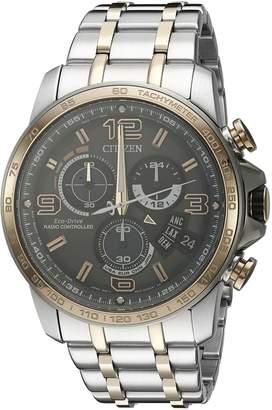 Citizen Men's BY0106-55H Chrono-Time A-T Analog Display Japanese Quartz Two Tone Watch