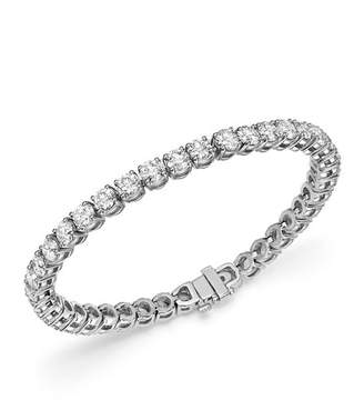 Bloomingdale's Diamond Tennis Bracelet in 14K White Gold, 12.0 ct. t.w. - 100% Exclusive