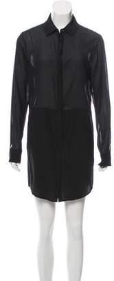 Alexander Wang Button-Up Silk Dress