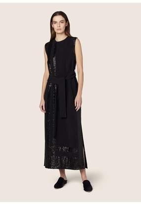 Derek Lam Sleeveless Sequin Embroidered Dress