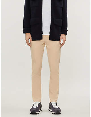 Brunello Cucinelli Slim-fit straight stretch-cotton chinos