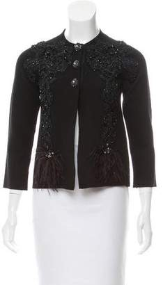 Marc Jacobs Embellished Cashmere Cardigan w/ Tags