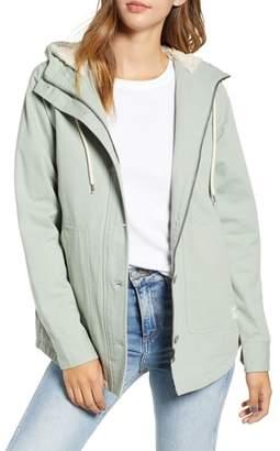 Rip Curl Gabby Fleece Lined Hooded Jacket