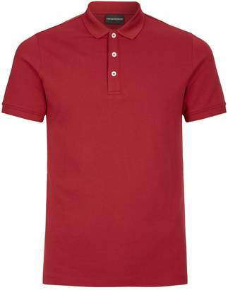 Emporio Armani Logo Polo Shirt