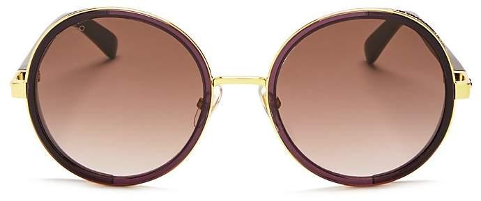 Jimmy ChooJimmy Choo Andie Round Sunglasses, 54mm
