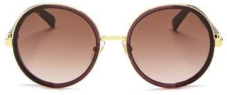 Jimmy Choo Andie Round Sunglasses, 54mm