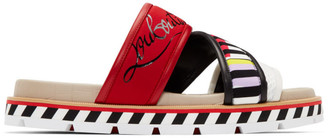 Christian Louboutin Muticolor Sport Sandals