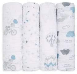 Aden Anais aden + anais Classic Blue Swaddle Blanket Set