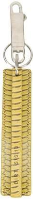 Rick Owens snake print Dirt keychain